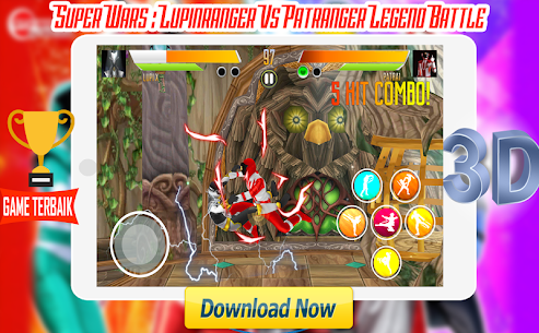 Super Wars : Lupin Vs Patra Legend Battle Apk Latest Version Download For Android 5