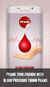 Blood Pressure Thumb Prank screenshot 0