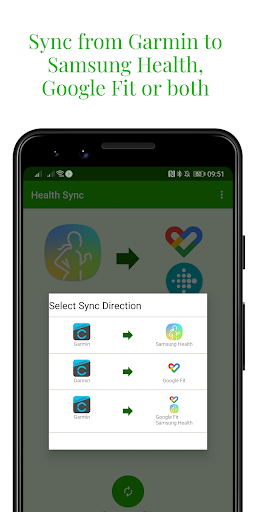 Capturas de pantalla de Health Sync 6