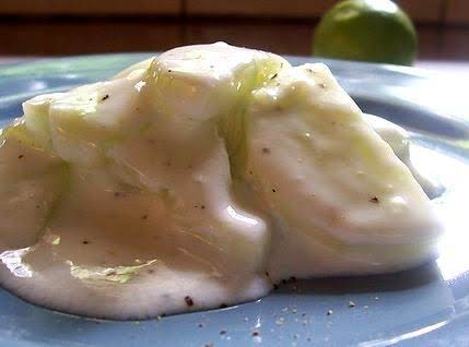 Cucumbers Cooked With Parsley Sauce Recipe