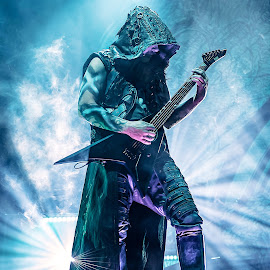Dimmu Borgir by Paweł Mielko - People Musicians & Entertainers ( metal, music photography, concert, dimmu borgir, metal music, guitar, guitars, nikon, concerts, concert photography, stage, black metal, guitarist )