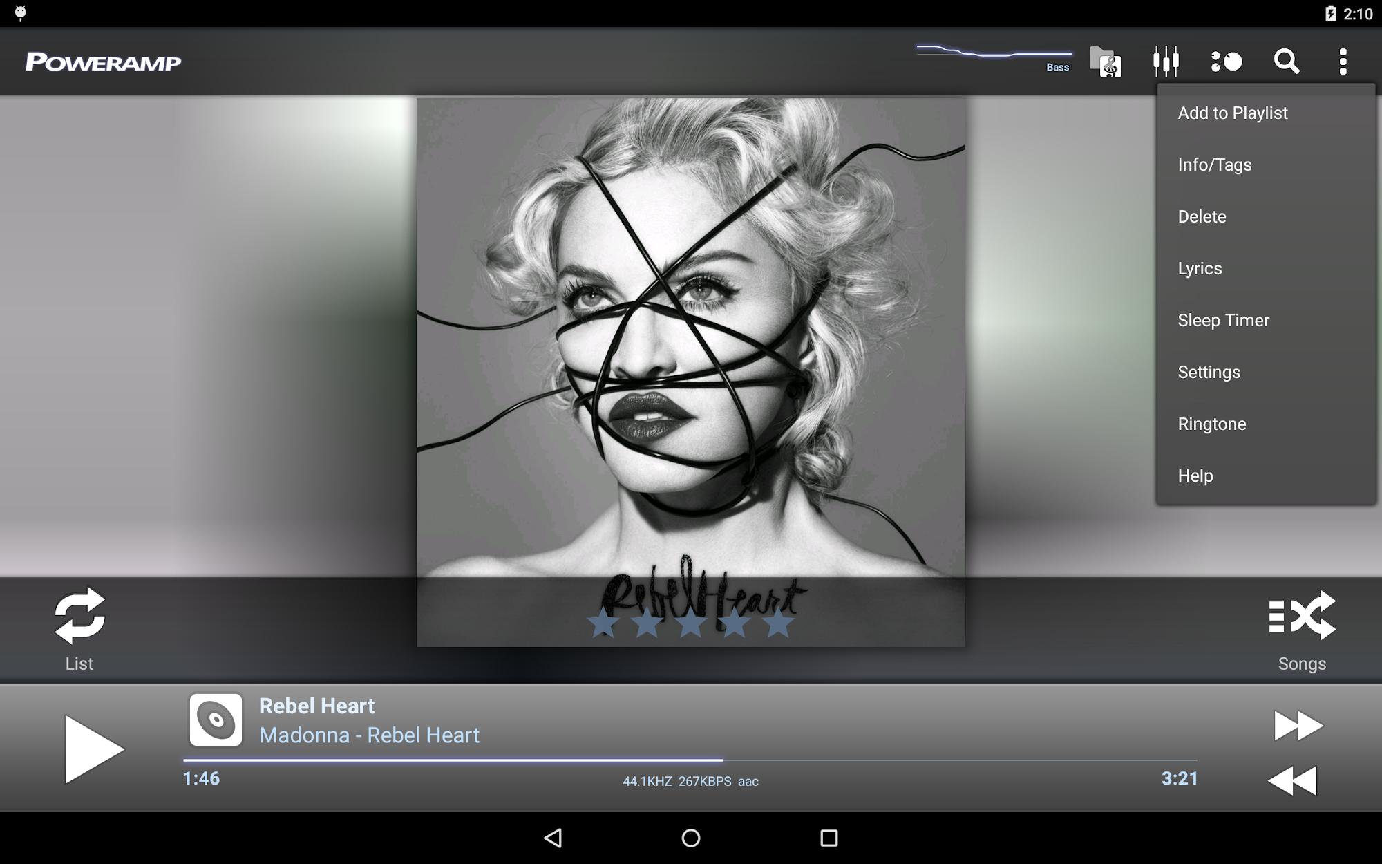 Poweramp Full Version Unlocker screenshot #10