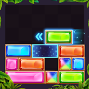 Jewel Drop - Slide Block Puzzle