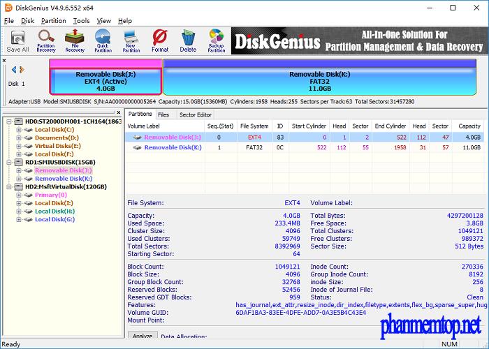 DiskGenius Professional Free Download