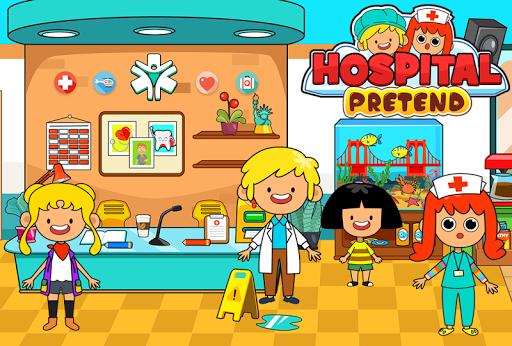 My Pretend Hospital - Kids Hospital Town Life 2.0 screenshots 7
