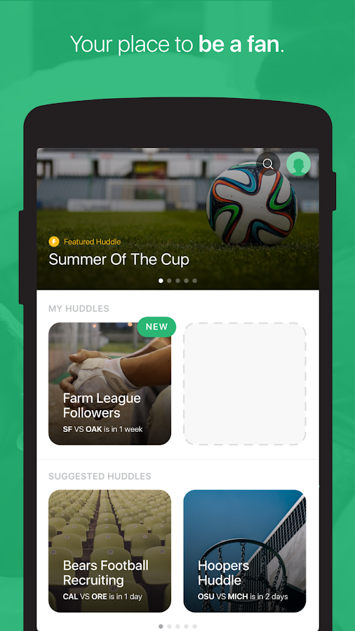 GameOn - Sports Chat- screenshot