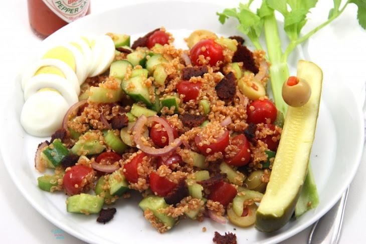 Bloody Mary Quinoa Salad Recipe