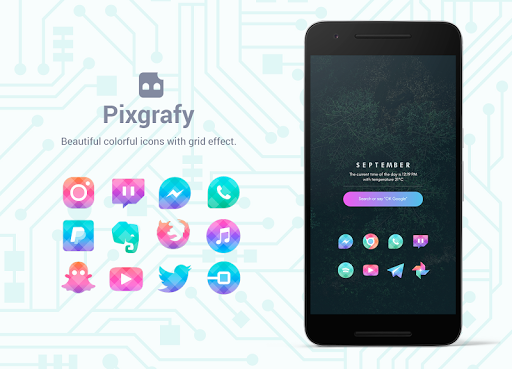 Bixpic Icons (6 Icon Packs included)  screenshots 4