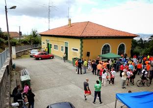 Photo: el epicentro de la prueba al lado del Radio Club Fene
