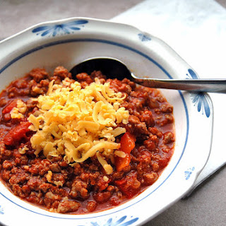 Turkey BBQ Chili with Red Peppers