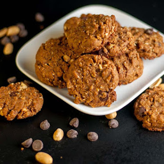 Favourite Gluten-Free Peanut Butter Chocolate Cookies