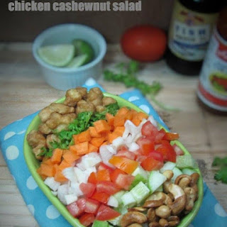 Thai Chicken Cashew Nut Salad.