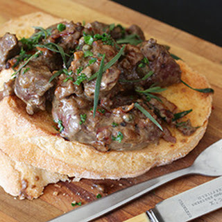 Lambs' Fry With Tarragon And Capers