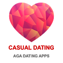 Casual Dating App - AGA icon