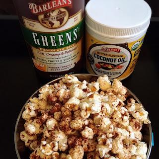 Chocolate Cinnamon Popcorn.
