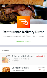Restaurante Delivery Direto- screenshot thumbnail
