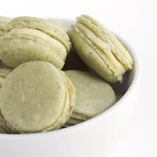 Green Tea French Macarons.