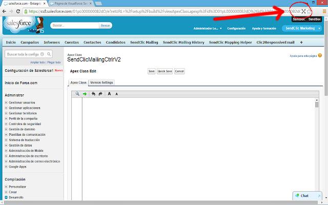 Salesforce Full Screen Code Editor