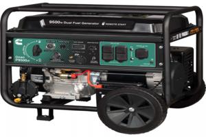 Onan P9500df Dual Fuel Portable Genset