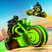 Light Bike Stunt Racing Game MOD APK 4 (Unlimited Money)
