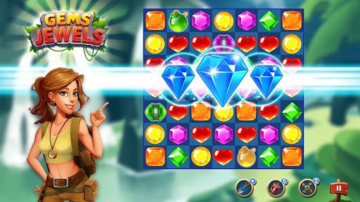 Jewel & Gem Blast - Match 3 Puzzle Game 2.4.1 Screenshots 6