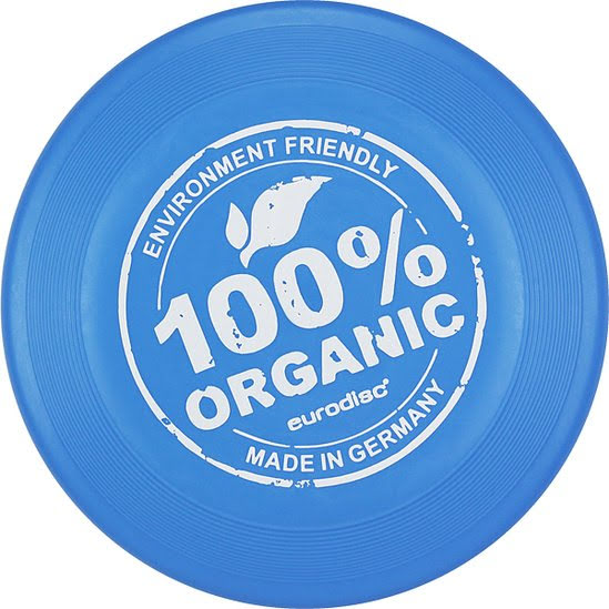 Frisbee av bioplast - blå