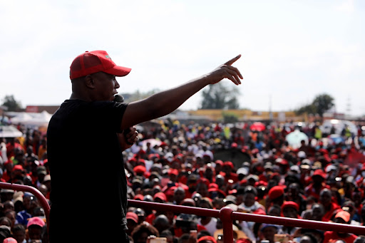 EFF will not only take over the wine farms in Stellenbosch, it will drink the wine, says Malema