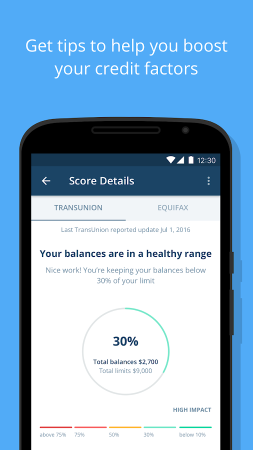 Credit Karma- screenshot