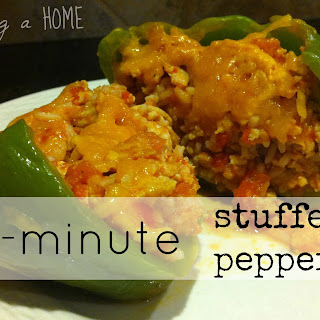30-minute Stuffed Peppers