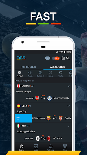 365Scores - Live Scores & Sports News 6.5.3 screenshots 1
