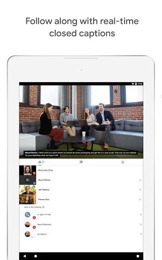 Google Meet - Secure Video Meetings 44.5.324814572 Screenshots 15
