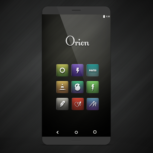 Orion UI Icon Pack screenshots 1