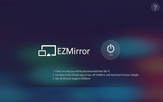 Screenshot of EZCast