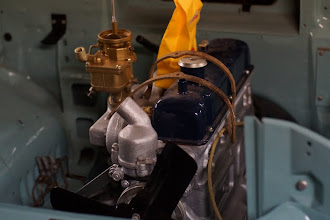 Photo: K22-i carburetor after restoration and zinc-plating