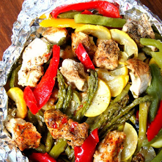 Grilled Chicken Packets Recipes