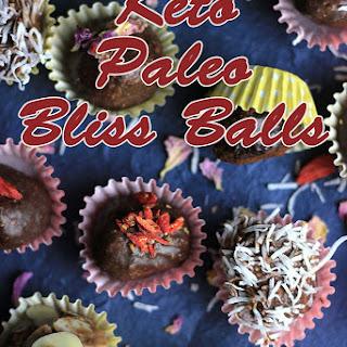 Paleo Keto Bliss Balls Recipe
