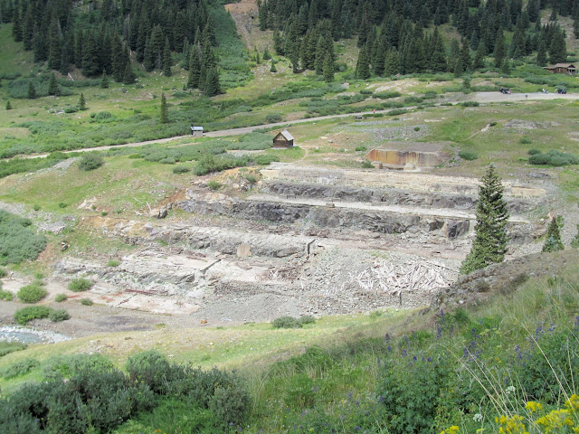 Former site of the Gold Prince Mill at Animas Forks