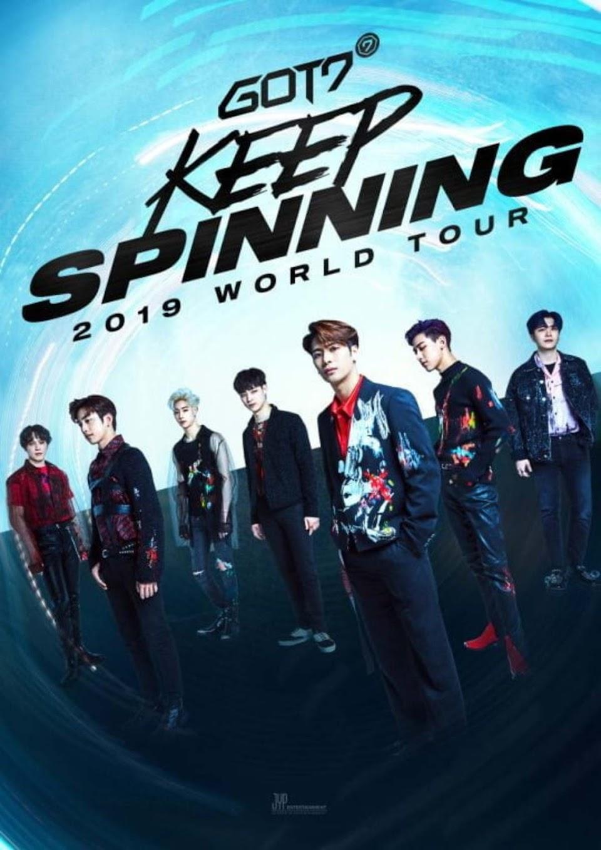 got7 tour poster