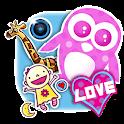 Cute Girl Sticker Photo Editor icon