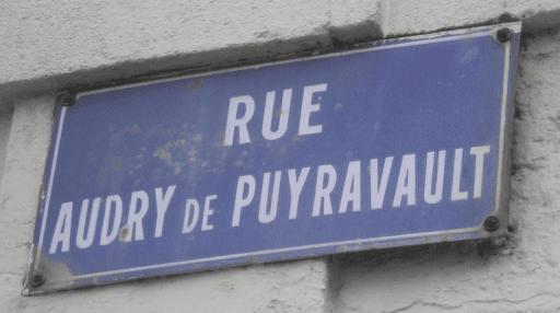 rue audry de puyravault en charente maritime