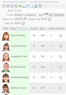 Teachers Desktop Lehrer App – Miniaturansicht des Screenshots