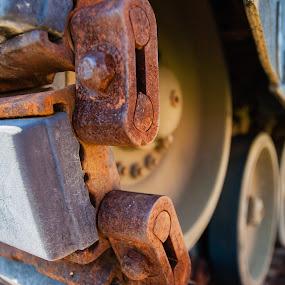 Tank track by Mark Luyt - Transportation Other (  )