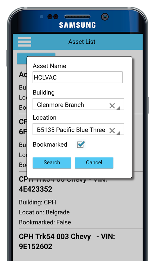 GoMax Mobile CMMS EAM Software- screenshot