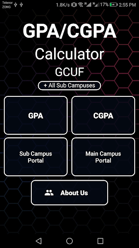 Download GCUF GPA Calculator on PC & Mac with AppKiwi APK Downloader