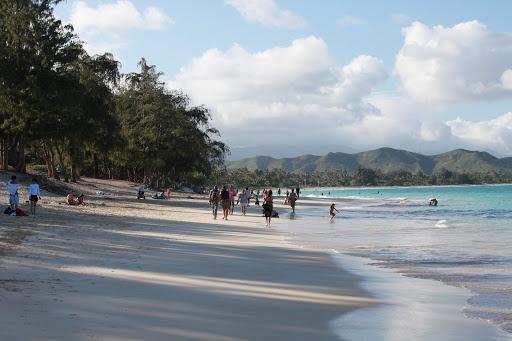 Head to Kailua beach on Oahu to get away from the crowds on Waikiki.