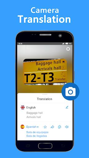 Screenshot for Translate Voice - Free Speech & Camera Translator in Hong Kong Play Store