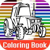 Combine Harvesters Coloring