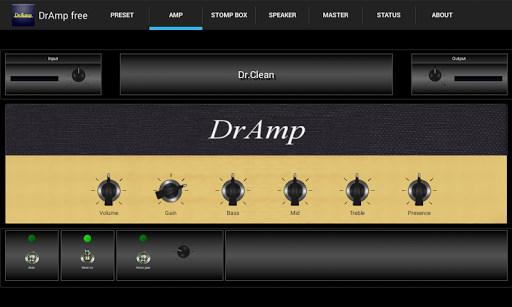 DrAmpFree - USB Guitar Amp 1.56 screenshots 3