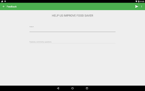 Food Saver- screenshot thumbnail