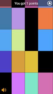 Color Tiles (Tap black tile) - náhled